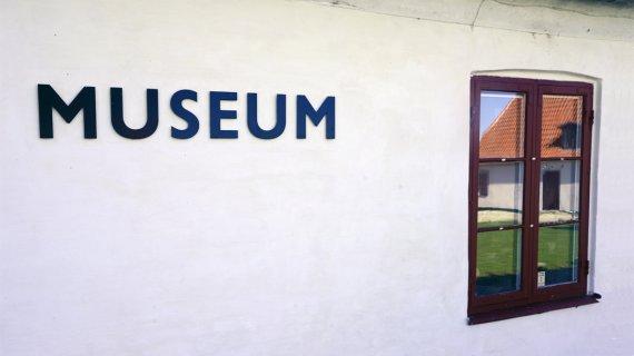 Museum hvid væg