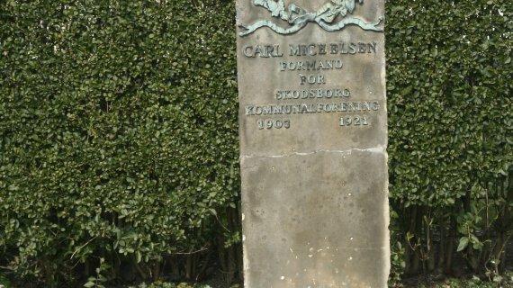 monument for Carl Michelsen