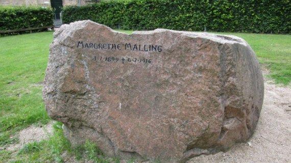 monument for Margrethe Malling