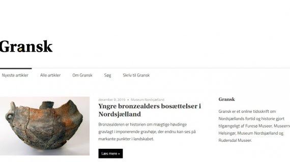 Gransks hjemmeside