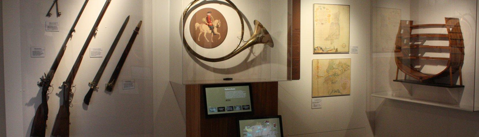 Jordrummet i Mothsgårdens udstilling