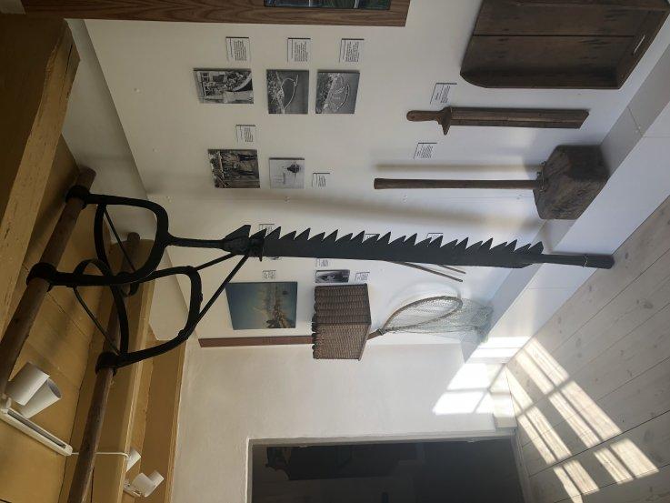 Issaven i udstillingen