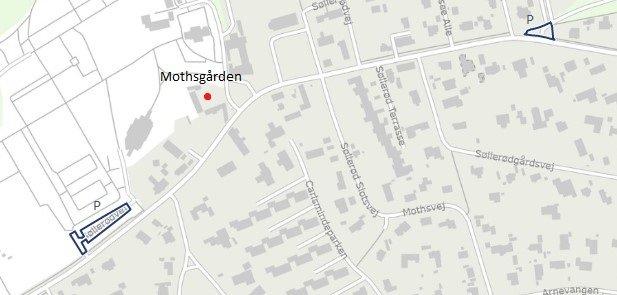 Parkering ved Mothsgården