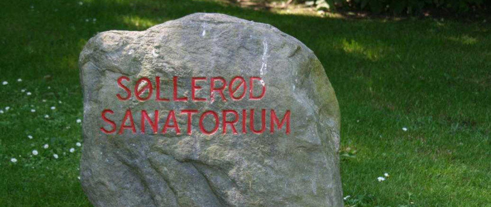 sten for Søllerød Sanatorium
