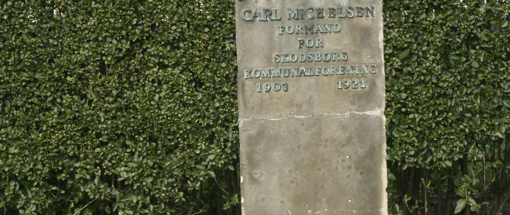 monument for Carl Michelsen