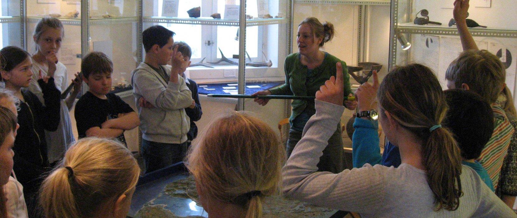 Skoletjeneste på Vedbækfundene