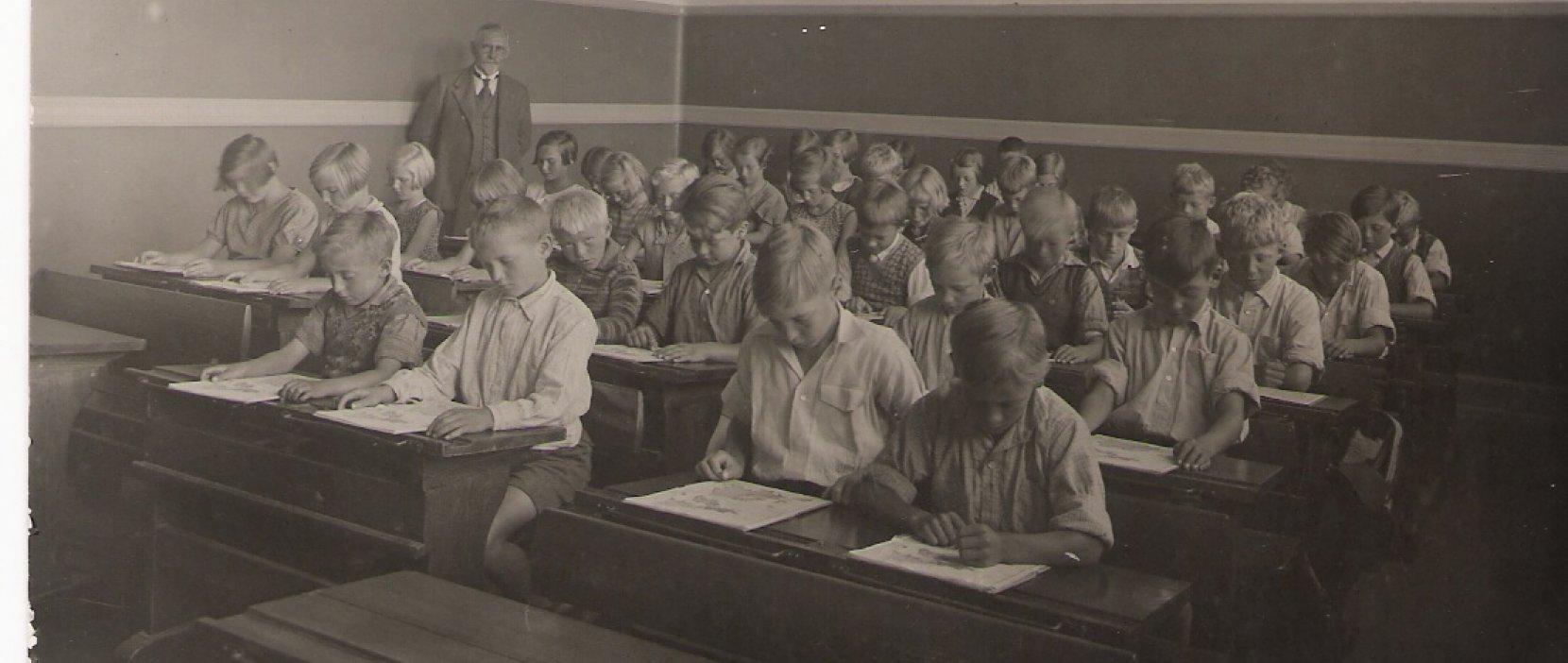 Klasse Gl Holte Skole 1932