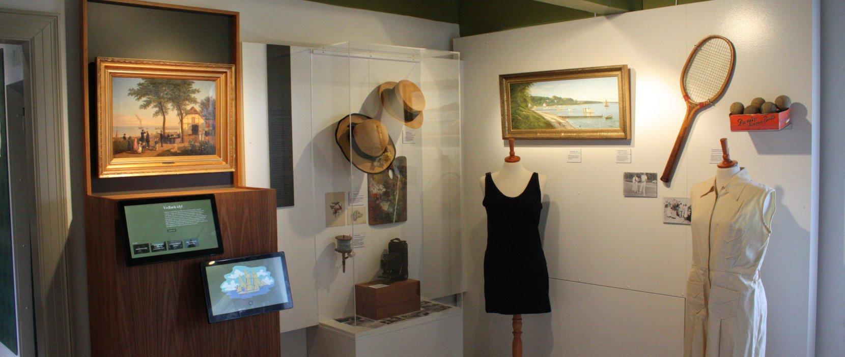 Luftrummet i Mothsgårdens udstilling